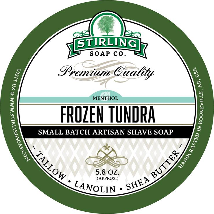 Stirling Soaps- Frozen Tundra Shave Soap