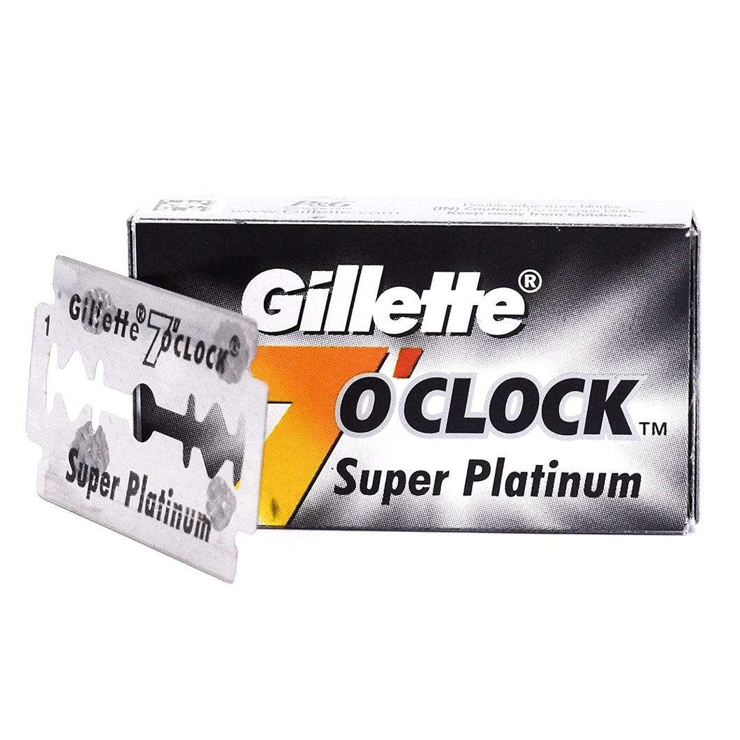 Gillette 7 O'Clock Black Blades