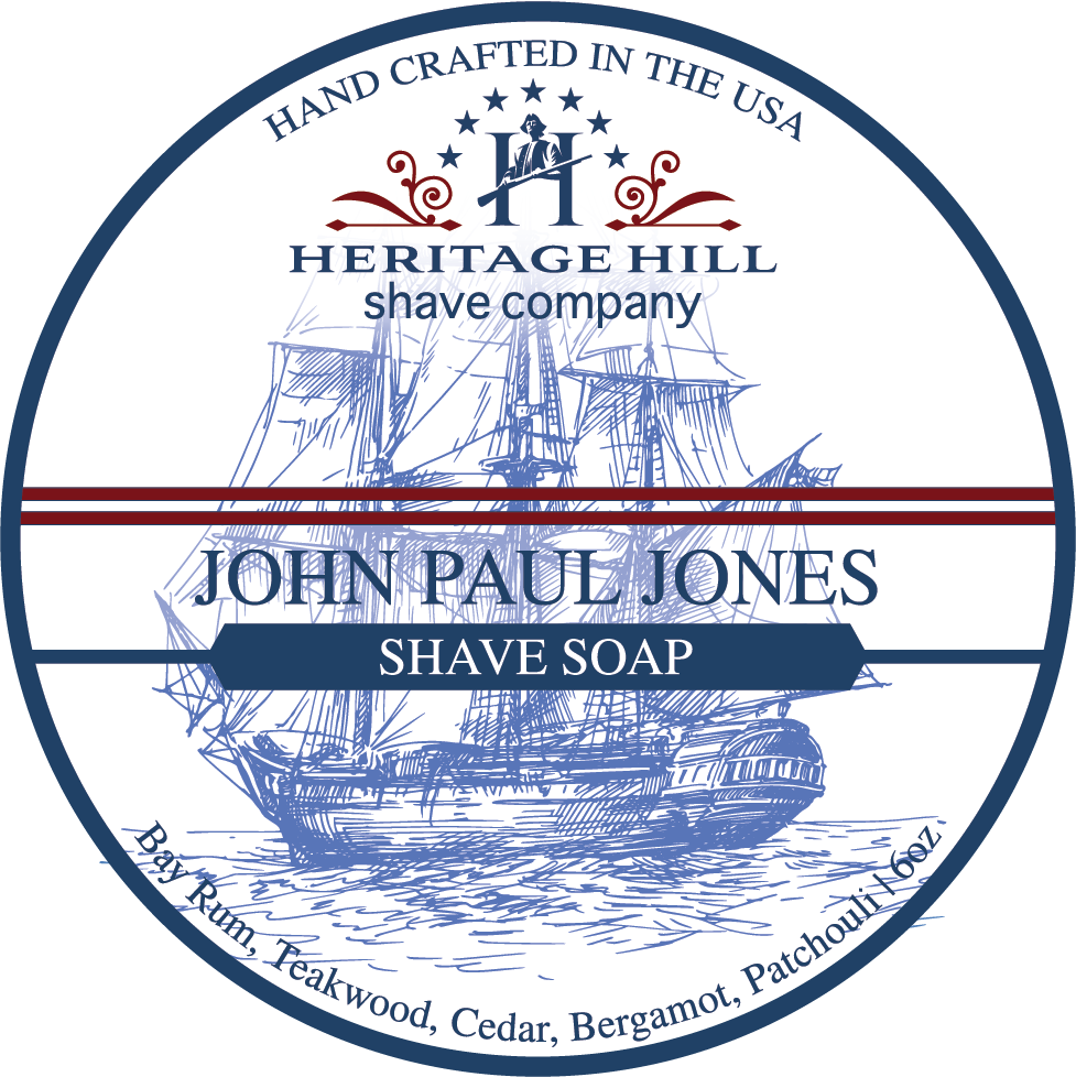 Heritage Hill Shave Company- John Paul Jones (6oz)