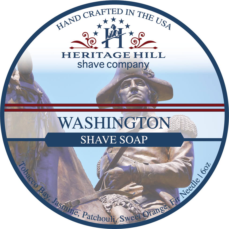 Heritage Hill Shave Company- Washington (6oz)