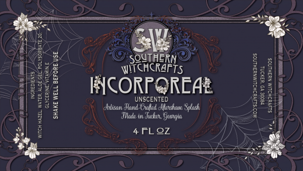 Southern Witchcrafts-Incorporeal Aftershave Splash (Unscented)