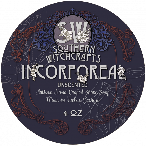 Southern Witchcrafts- Incorporeal Vegan Shave Soap (Unscented)