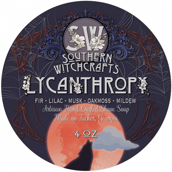 Southern Witchcrafts- Lycanthropy Vegan Shave Soap