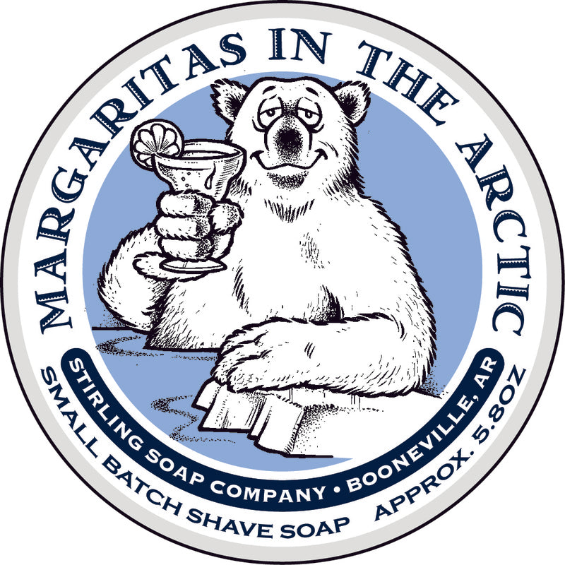 Stirling Soaps- Margaritas in the Arctic Shave Soap