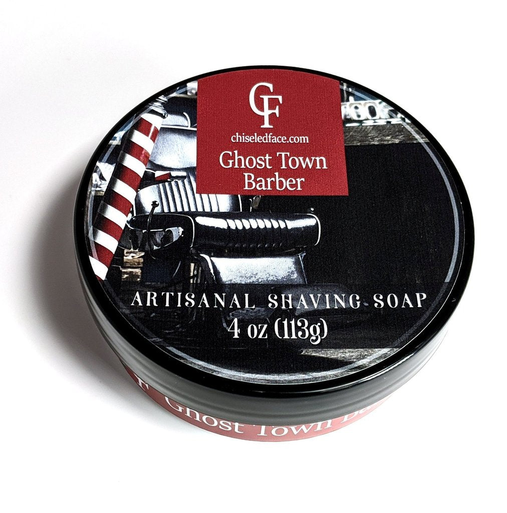 Chiseled Face Groomatorium- Ghost Town Silk Tallow Shaving Soap
