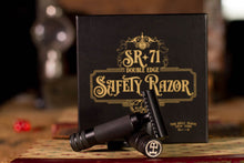 Load image into Gallery viewer, The Holy Black SR-71 Guard Bar Safety Razor