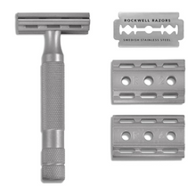 Load image into Gallery viewer, Rockwell 6S Stainless Steel Razor