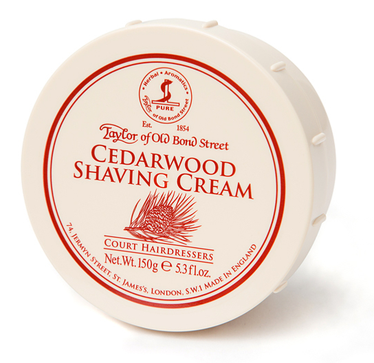 Taylor of Old Bond Street- Cedarwood Shaving Cream
