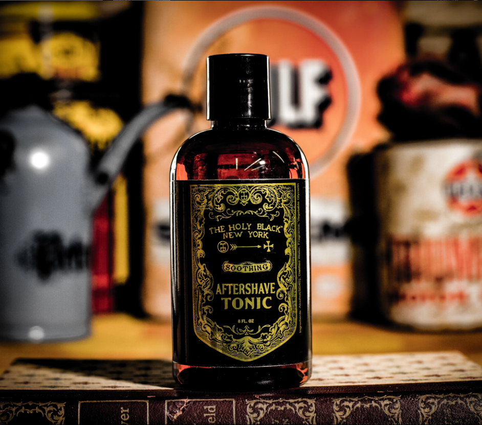 The Holy Black- Aftershave Tonic