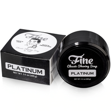 Load image into Gallery viewer, Fine Platinum Shaving Soap
