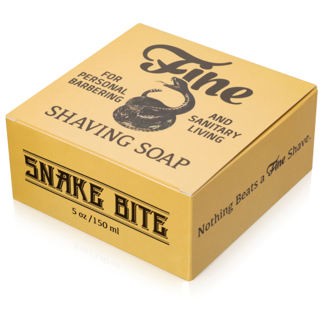 Fine Snake Bite 21C Shaving Soap