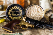 Load image into Gallery viewer, The Holy Black Artisan Line Shaving Soap