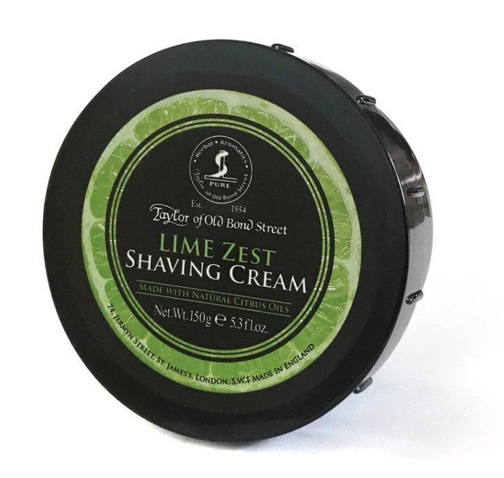 Taylor of Old Bond Street- Lime Zest Shaving Cream