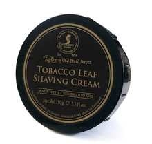 Load image into Gallery viewer, Taylor of Old Bond Street- Tobacco Leaf Shaving Cream