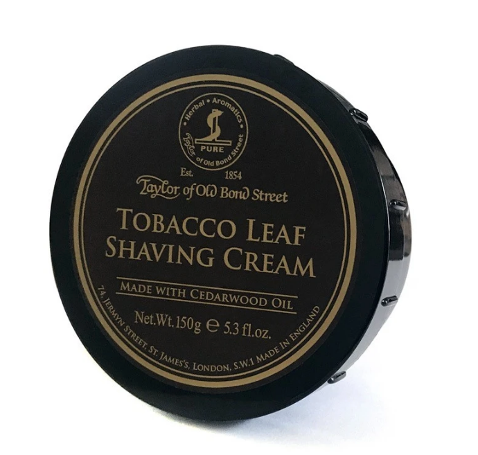 Taylor of Old Bond Street- Tobacco Leaf Shaving Cream