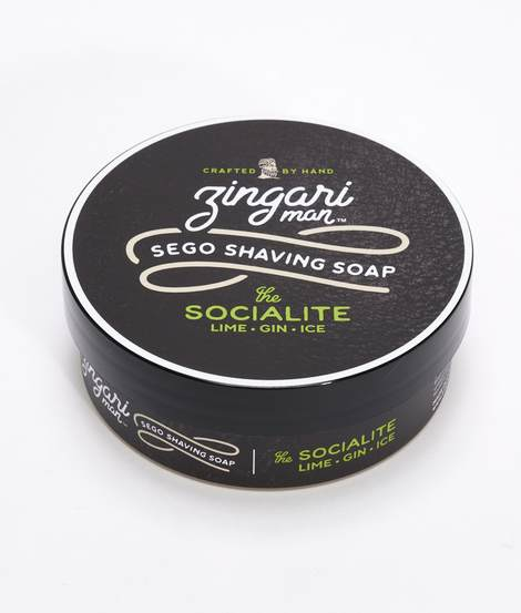 Zingari Man- The Socialite Sego Shave Soap