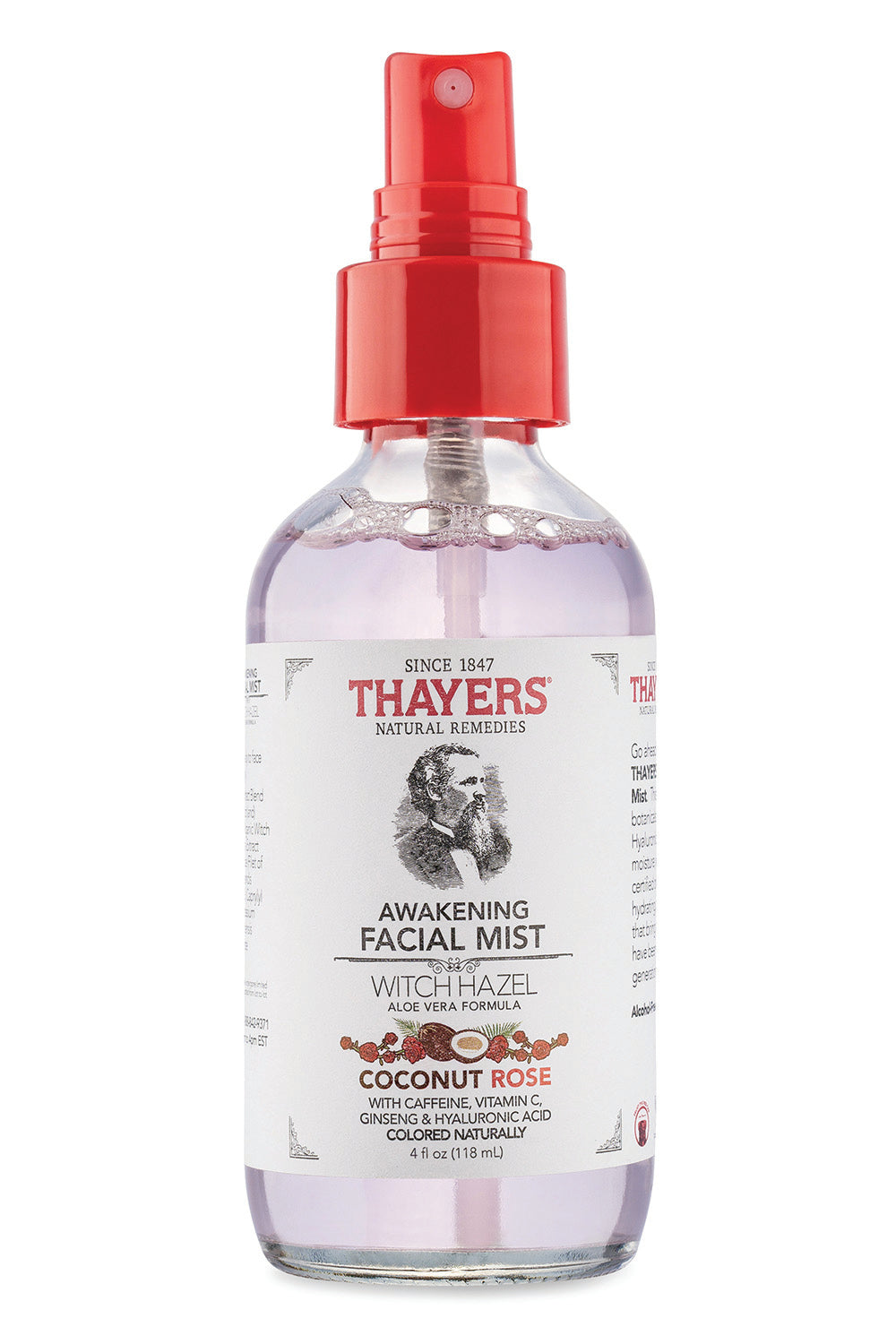 Thayers Witch Hazel- Coconut Rose Facial Spray