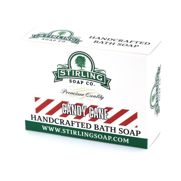 Stirling Bath Soap- Candy Cane