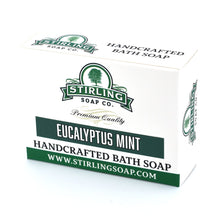 Load image into Gallery viewer, Stirling Bath Soap- Eucalyptus Mint