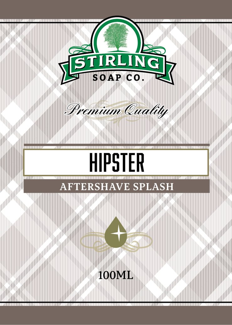 Stirling Hipster Aftershave