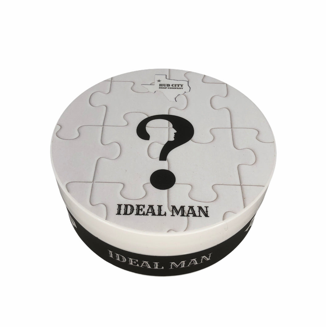 Hub City Soap Company- Ideal Man Shave Soap