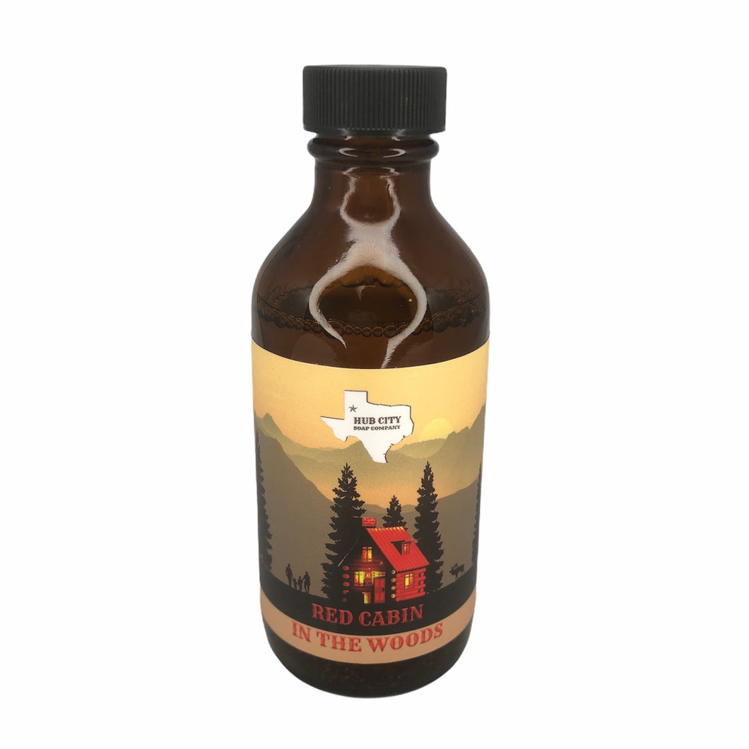 Hub City Soap Company- Red Cabin in the Woods Aftershave Splash