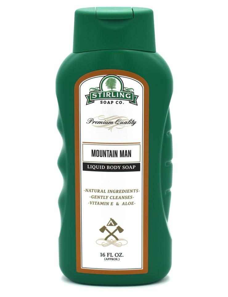 Stirling Liquid Body Soap- Mountain Man