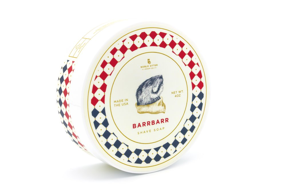 Noble Otter- Barrbarr Shaving Soap