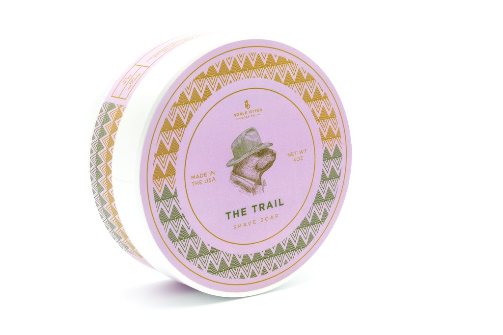 Noble Otter- The Trail Shaving Soap