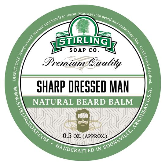Stirling Beard Balm- Sharp Dressed Man