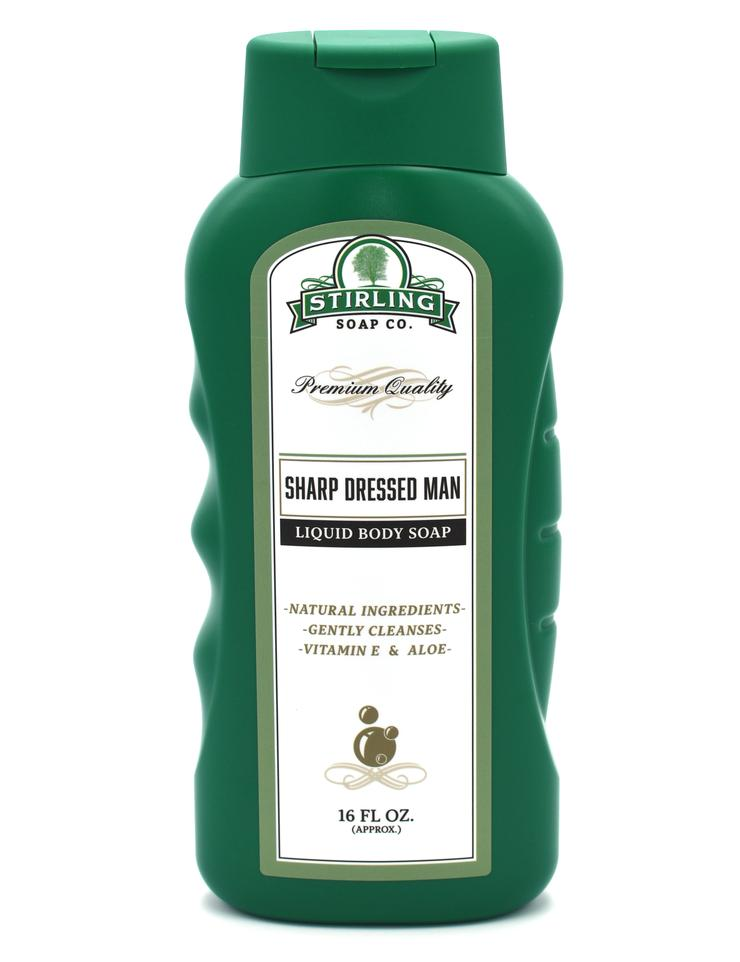 Stirling Liquid Body Soap- Sharp Dressed Man