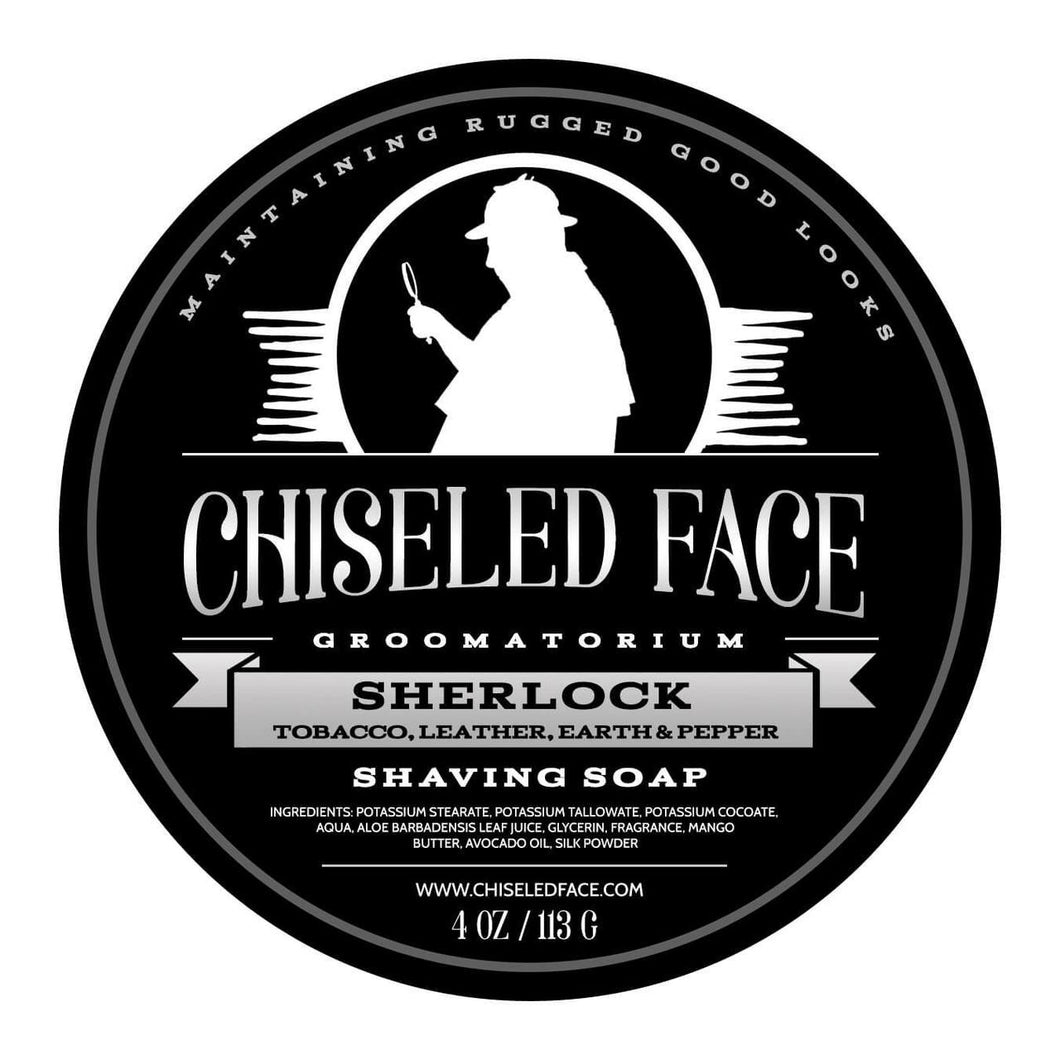 Chiseled Face Groomatorium- Sherlock Shaving Soap