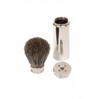 Travel Shaving Brush- Pure Badger
