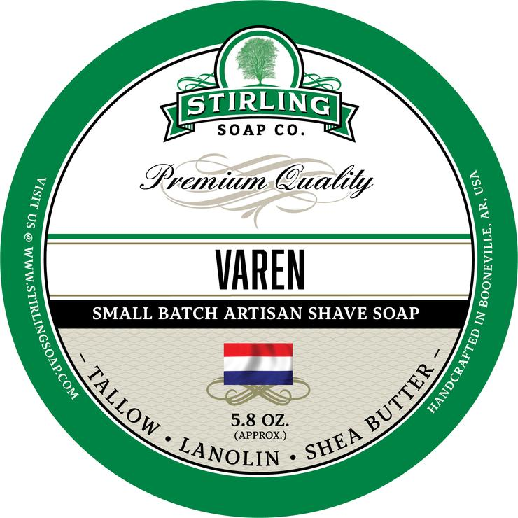Stirling Soaps- Varen Shave Soap