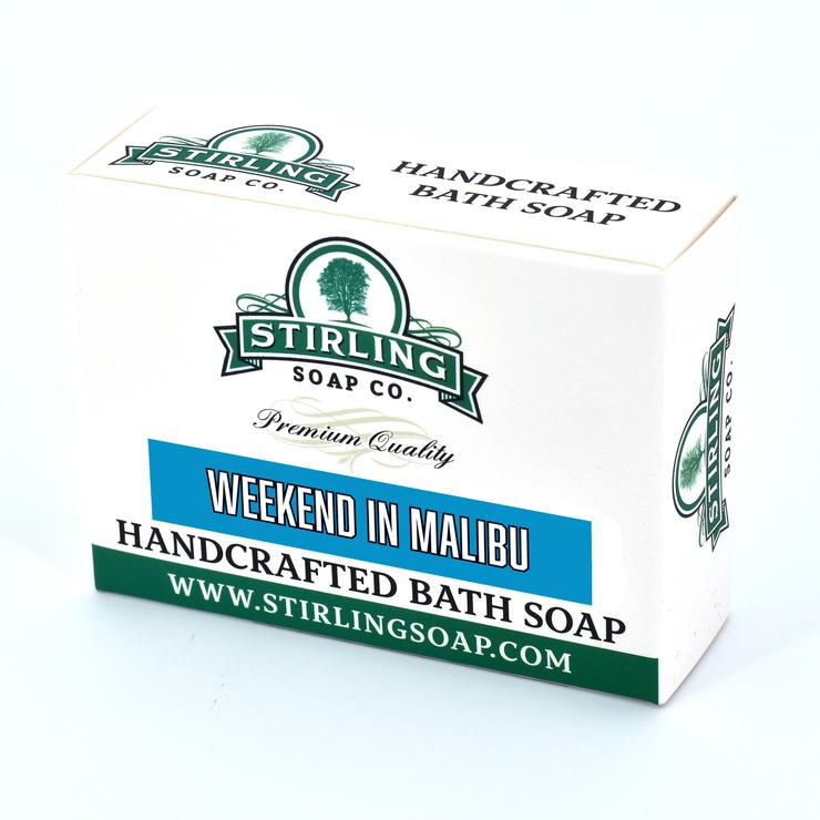 Stirling Bath Soap- Weekend in Malibu