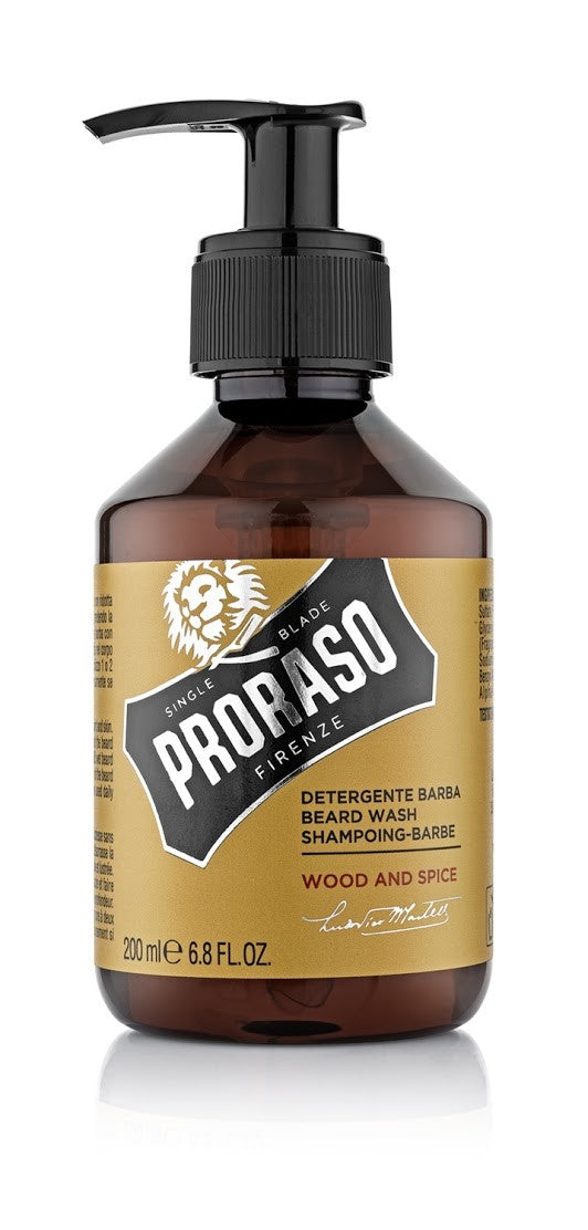 Proraso Beard Wash- Wood and Spice