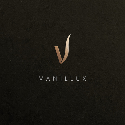 Vanillux logo crafted by AD RIGA Creative Agency - www.adriga.com