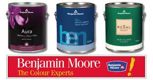 3 benjamin moore paint cans