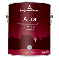 Aura Waterborne Exterior Paint - Satin Finish 631