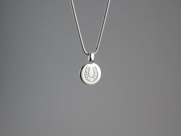 Disc Tag Pendant