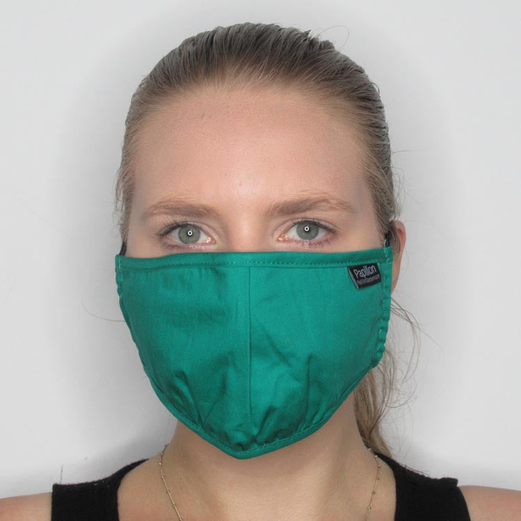 Cotton Mask with Adjustable Straps