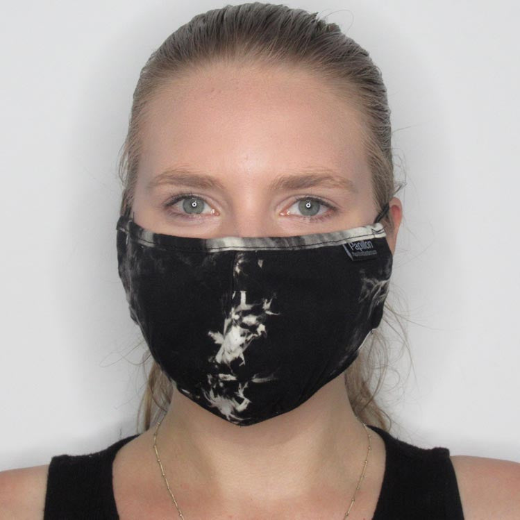 Tie Dye Cotton Mask with Adjustable Straps