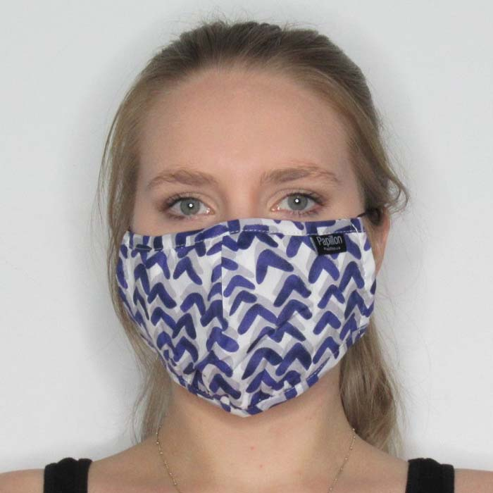 Graffiti Cotton Mask with Adjustable Straps