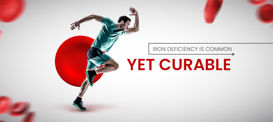 Iron deficiency is common yet curable.
