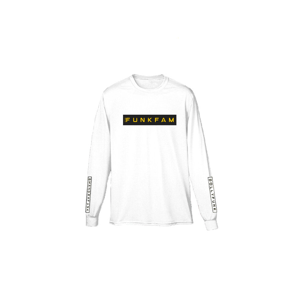 FUNKFAM -LONG SLEEVE (white)