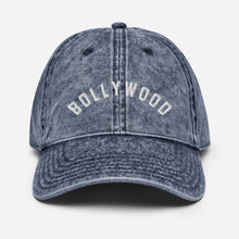 "Load image into Gallery viewer, ""BOLLYWOOD"" Vintage Cotton Twill Cap"