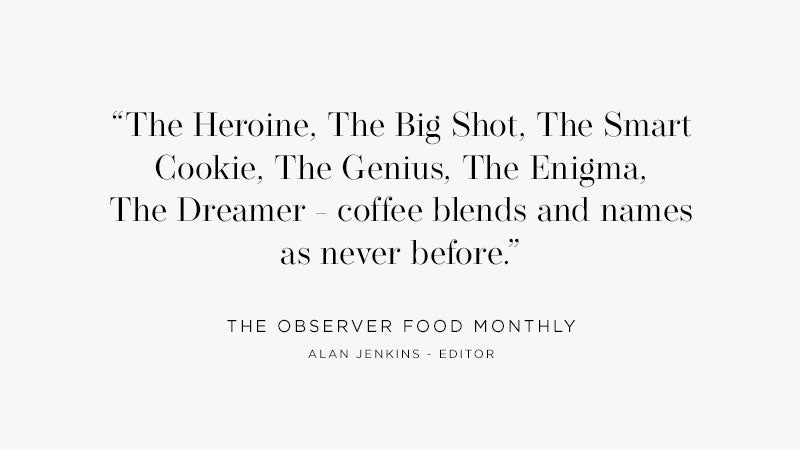 Artisan Coffee Co Launch Round up Observer quote characters