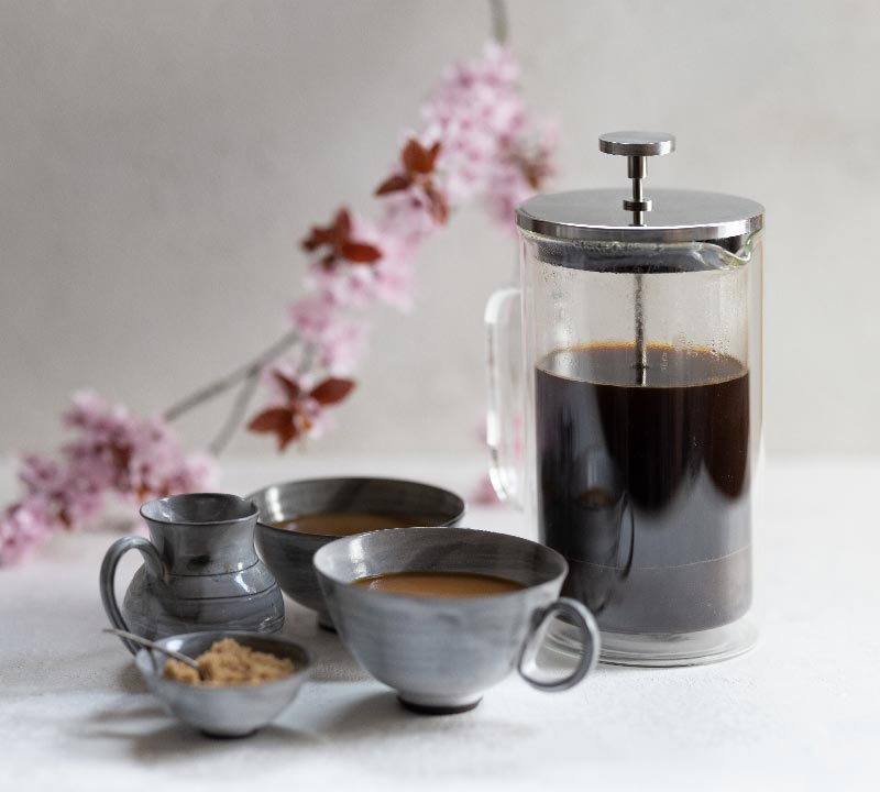 artisan coffee co blossom drinkware experience french press