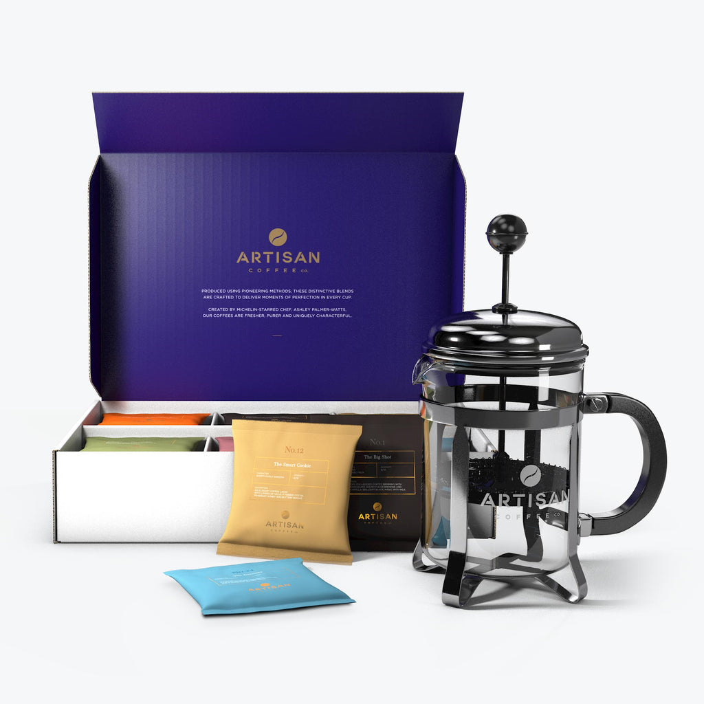 Ultimate Collection Ground Filter Cafetière Artisan coffee fathers day gift boxes ideas delicious brew connoisseurs espresso