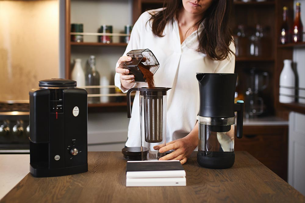 artisan coffee co coldbrew brewguide beans grind roast cold brewer filter